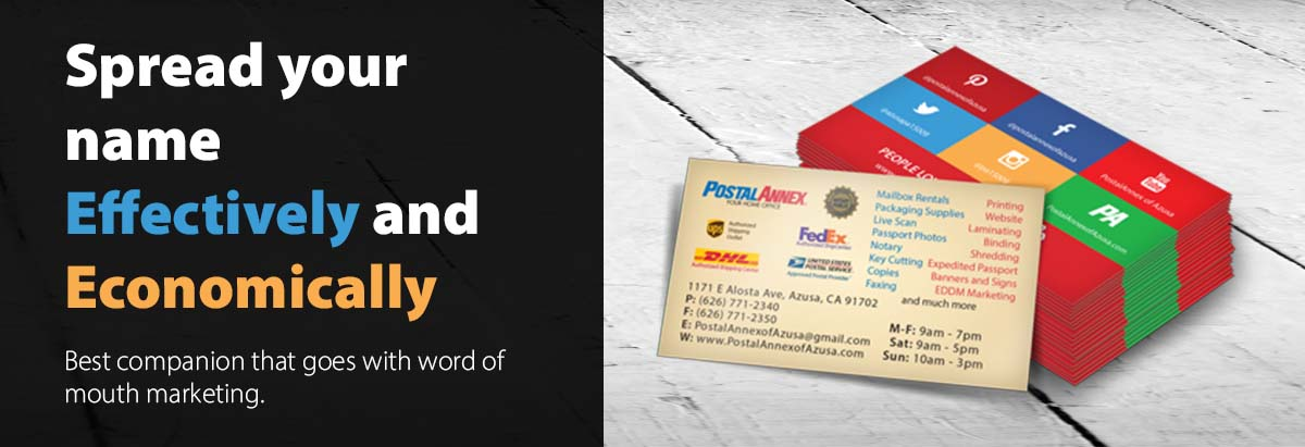 1000 Business Cards with $39.99 only. Order Now!