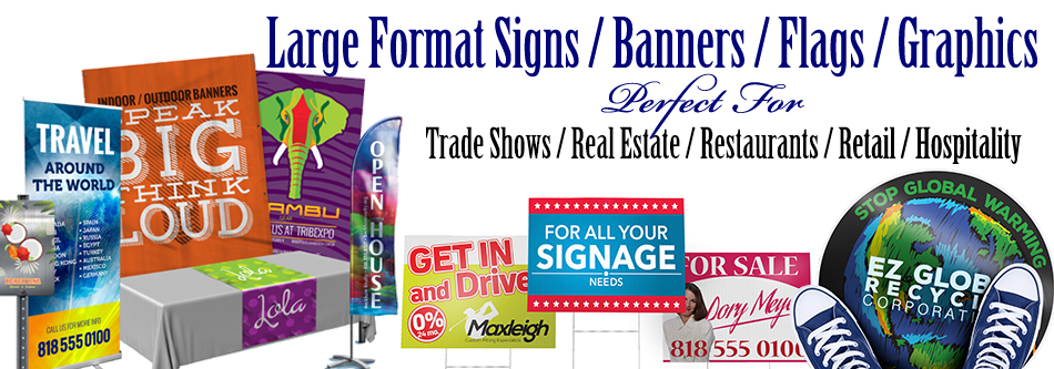 Large Format Banners & Signs