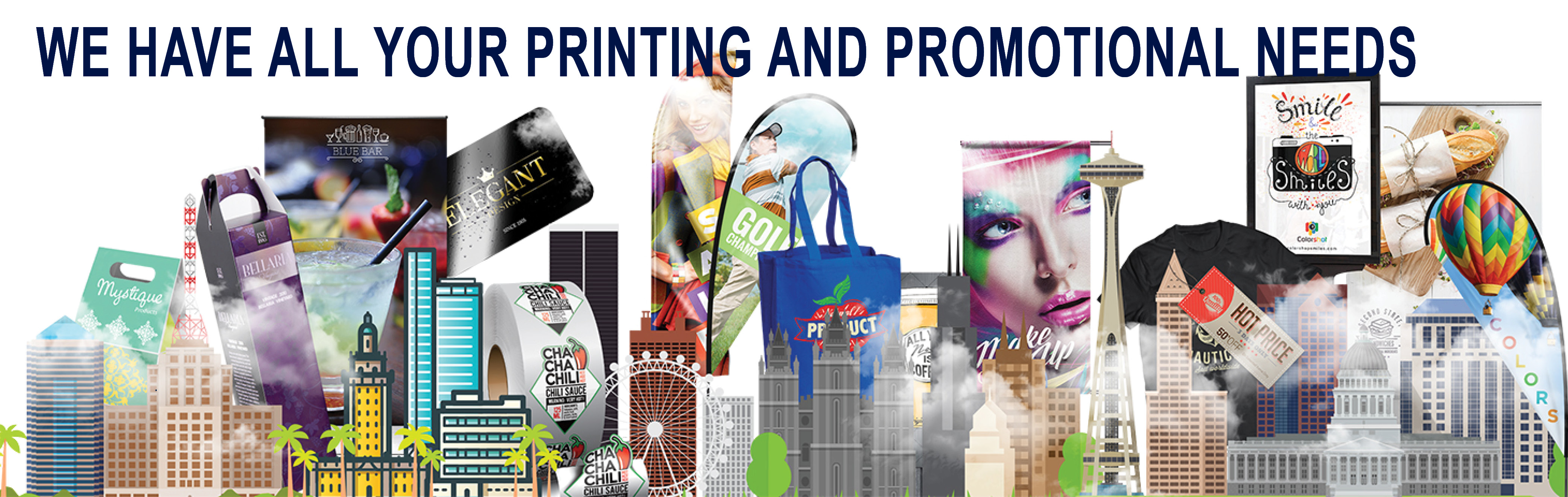 We Have All Your Printing Needs