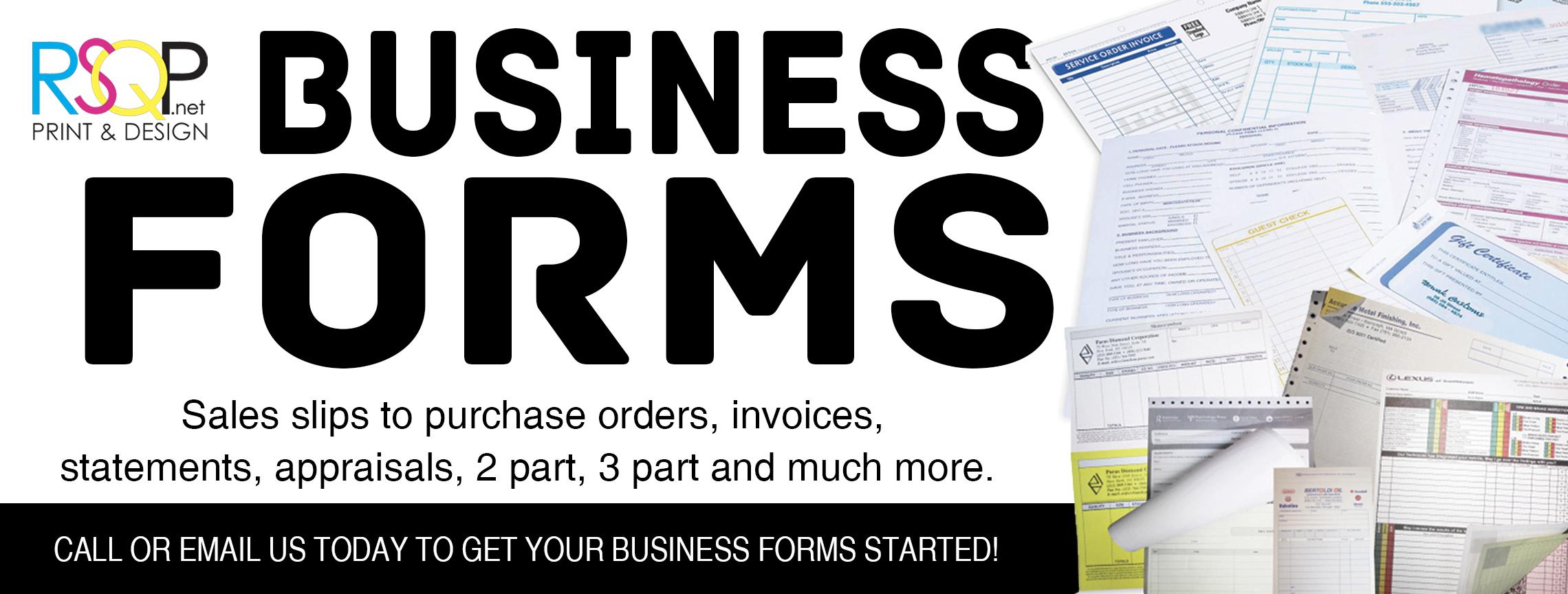 RSQP Business Forms