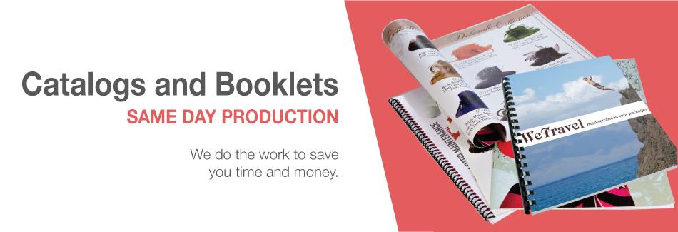 Catalog Booklet Printing