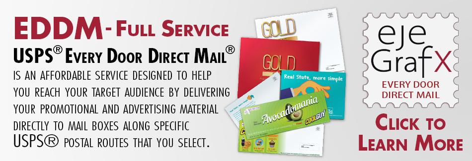 EJE GRAFX EDDM Every Door Direct Mail Full Service