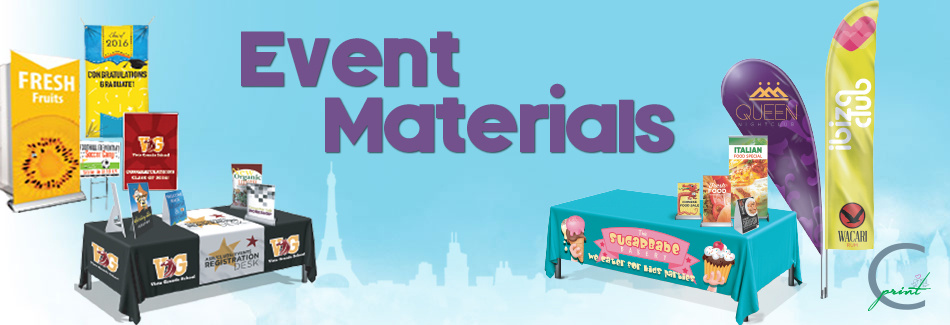Event Materials