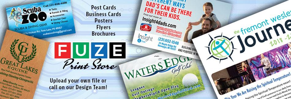 FUZE Print Store Slide 2