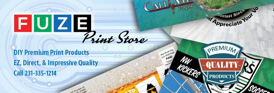 FUZE Print Store Slide 1