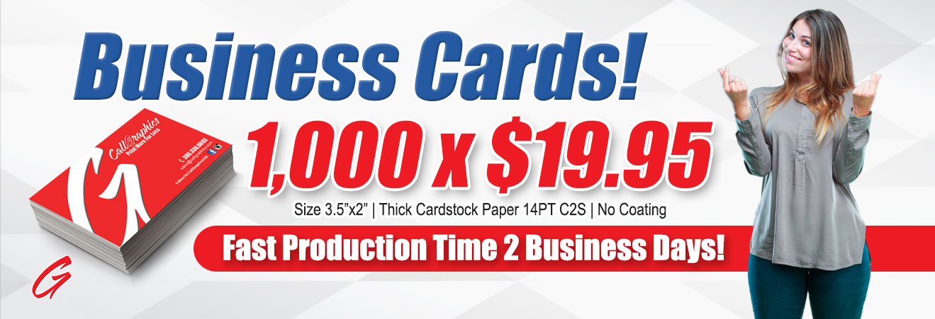 Business Cards Promotion