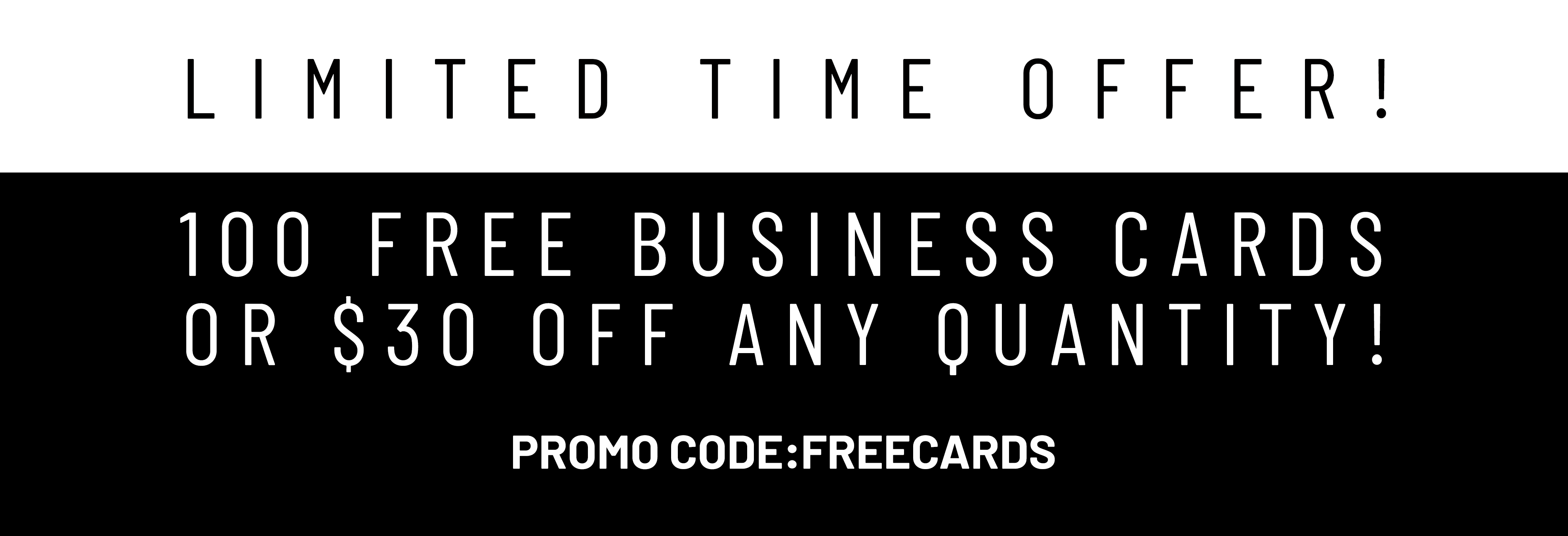 free card promo