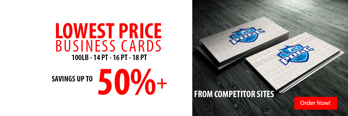 Lowest Price Business Cards