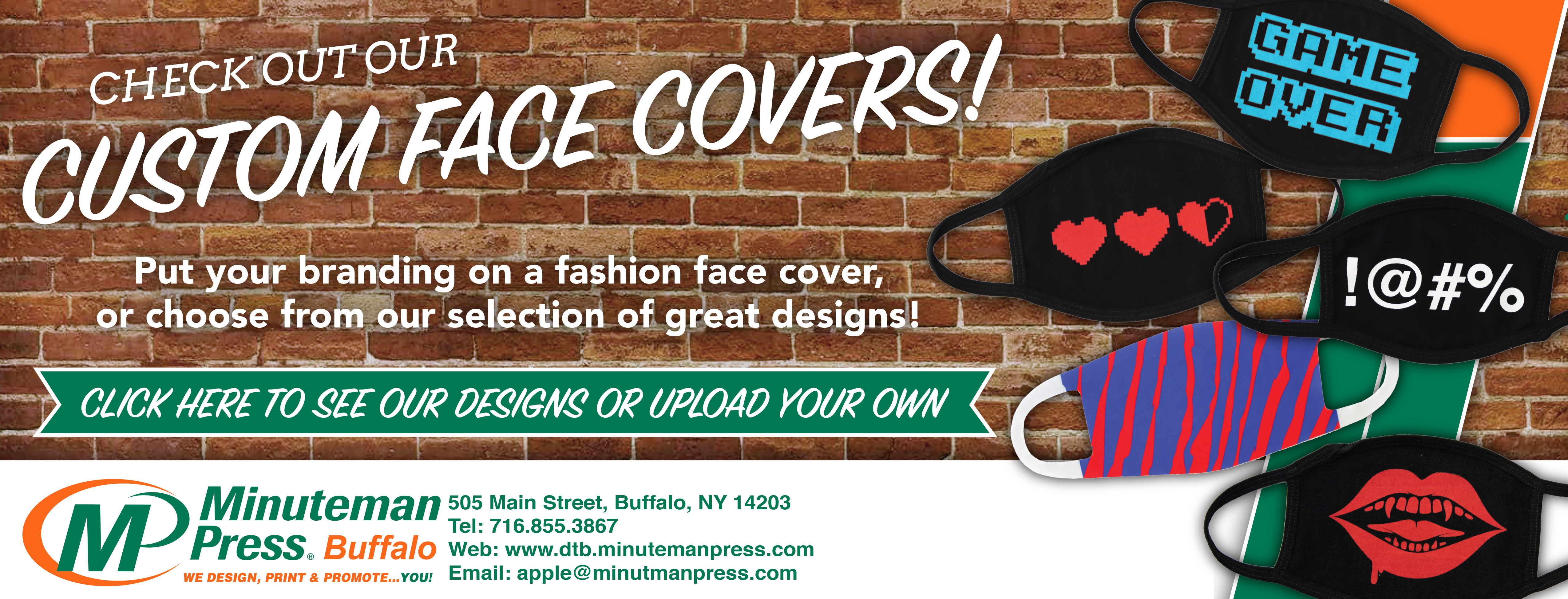 Custom Face Covers