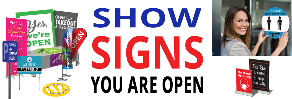 Show Signs You Are Open