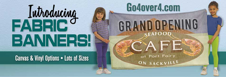 Go4over4 Fabric Banners