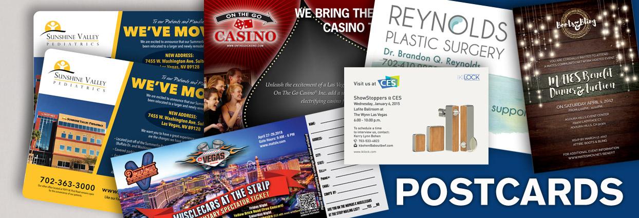 Las Vegas Postcard Printing