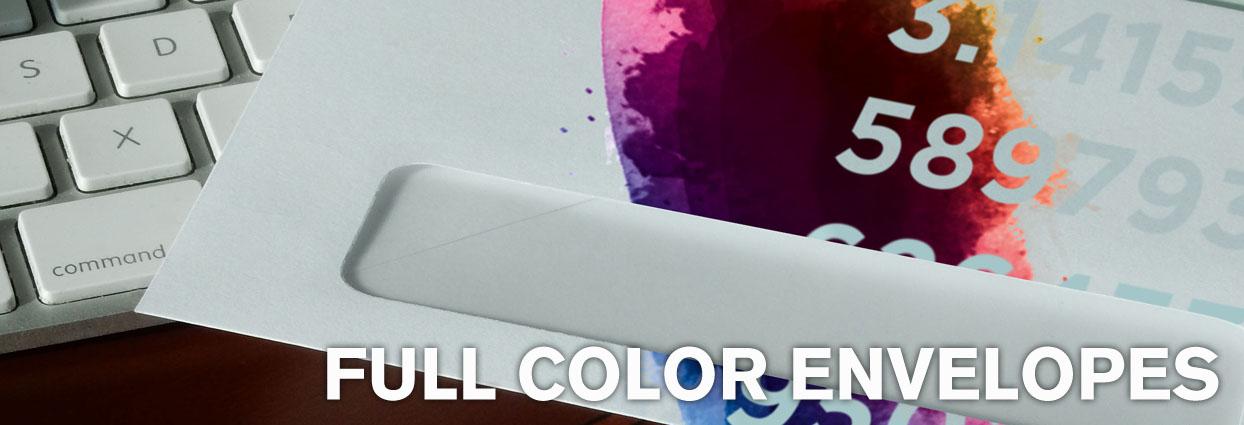 Full Color Envelope Printing in Las Vegas