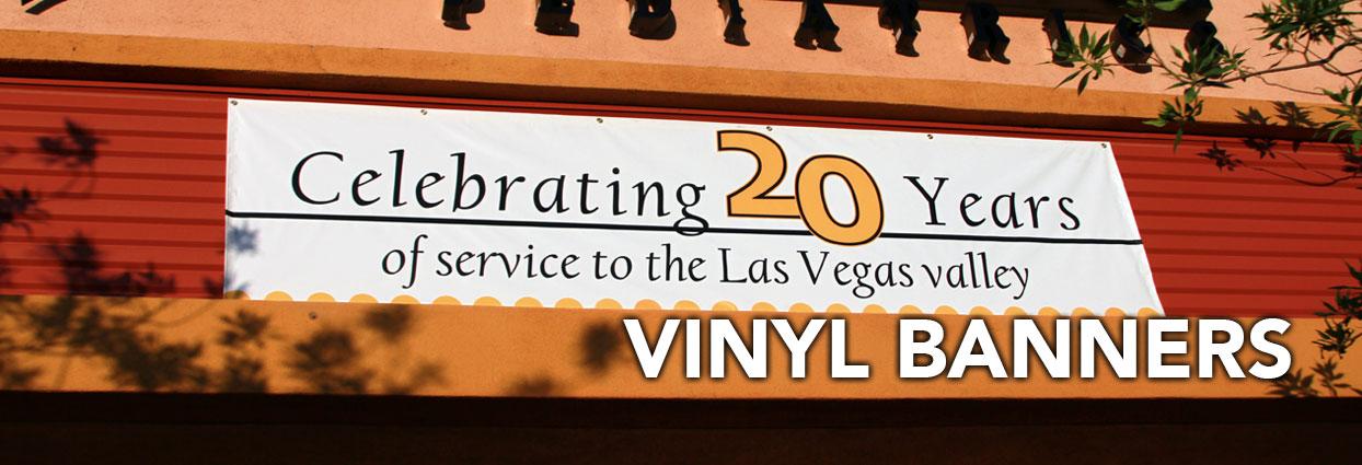 Las Vegas Vinyl Banners