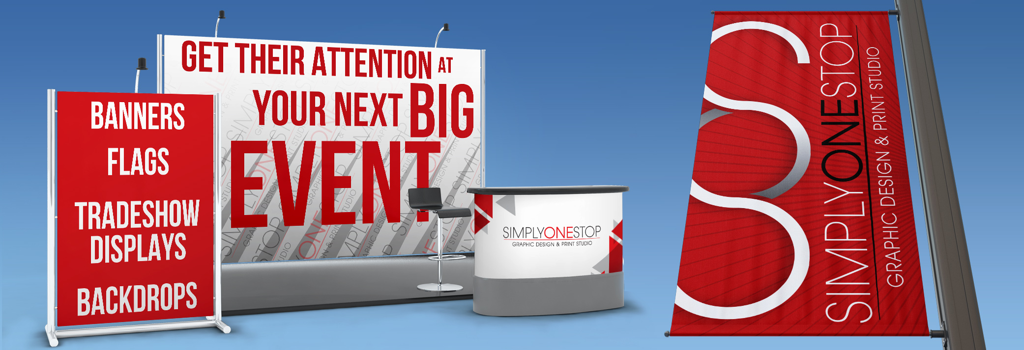 banners and displays for your next big event