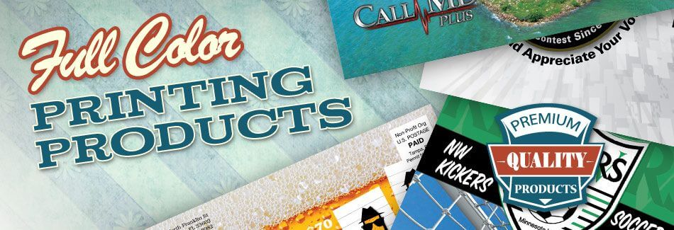 Full Color Printing Products
