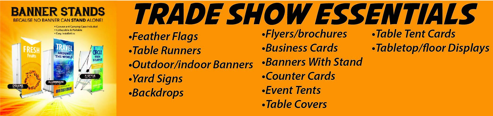 Trade show Essentials