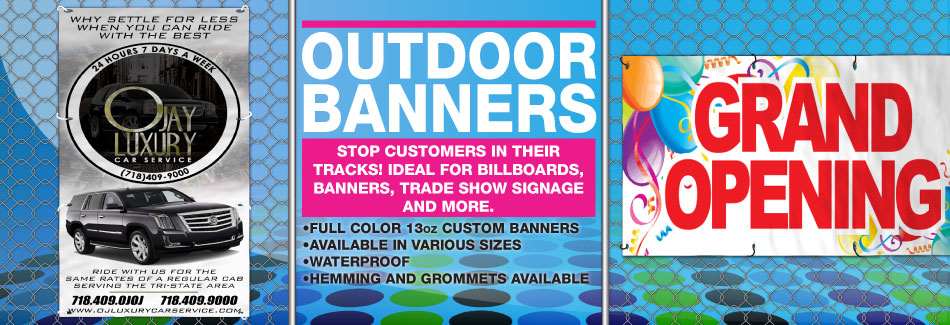 Outdoor Banner Slider