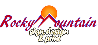 Rocky Mountain Sign, Design & Print