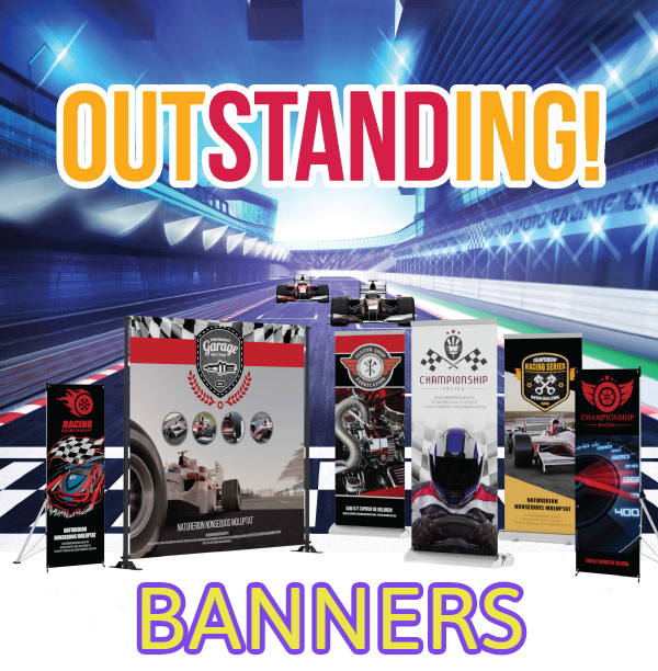 Banners with Stand