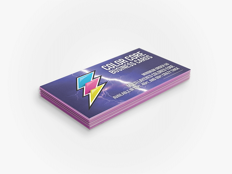 Color Core Business Cards
