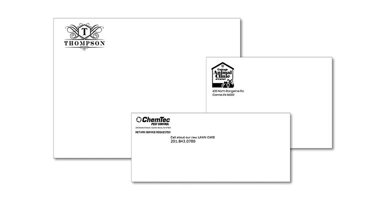 Spot Color Envelopes