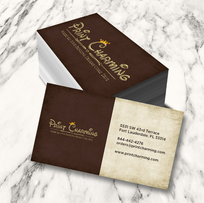 Print charming inc standard business cards colourmoves