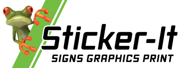 Sticker-It Signs|Graphics|Print