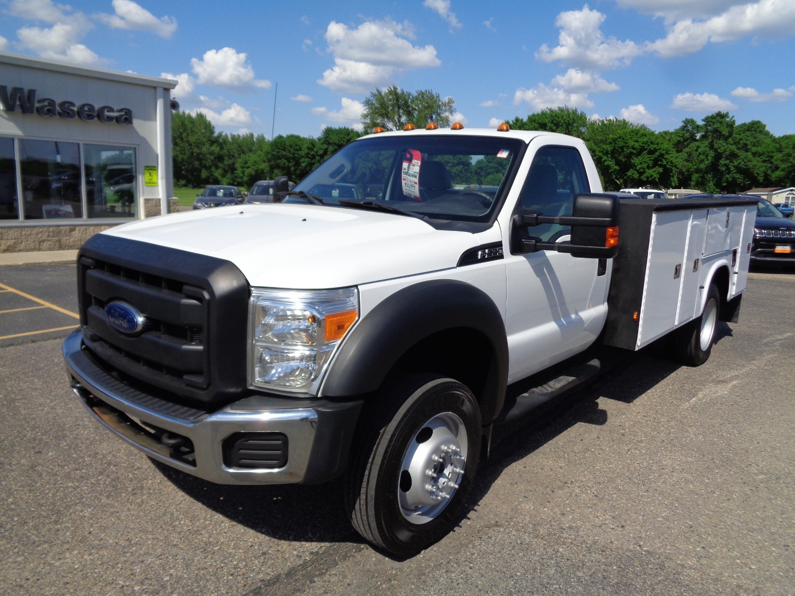 Pre-Owned 2012 Ford Super Duty F-550 Drw