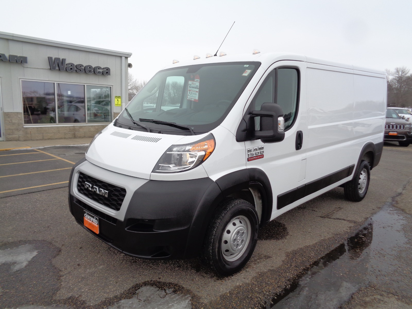 Certified Pre-Owned 2020 Ram Promaster Cargo 1500 136 Wb
