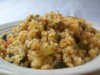 Vegetable Bulgur Pilaf
