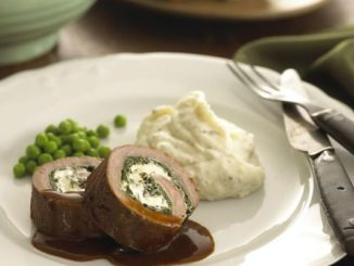 Lamb and Fresh Goat Cheese Roulade