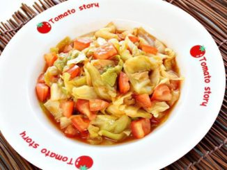 Stir Fried Cabbage and Tomatoes