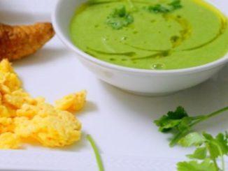 Asian Green Pea Soup