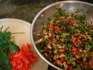 Middle Eastern Chopped Salad