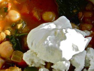 Garbanzo Beans & Greens