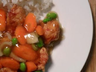 Korean Sweet n Sour Chicken