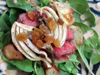 Steak Salad With Roasted Potatoes and Fennel