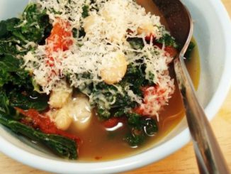 White Bean, Kale, and Tomato Stew