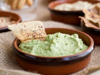 Curried Pea Dip