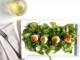 Citrus Arugula Salad with Seared Scallops