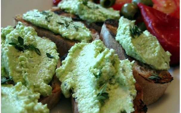 Green Goat Cheese Spread