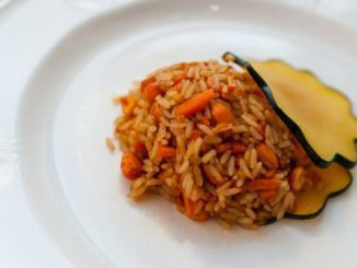 Autumn Fried Rice with Buffalo Nuts®