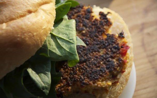 Butternut Squash Quinoa Burgers