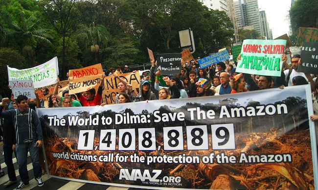 Indigenous power to protect the Amazon!