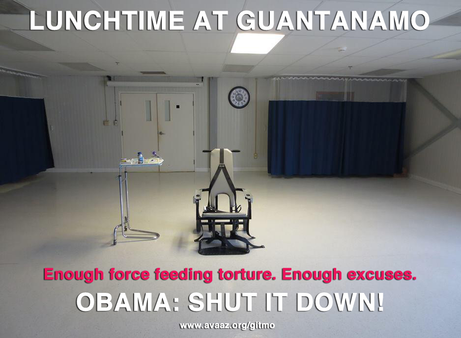 Obama: Shut Guantanamo Down!