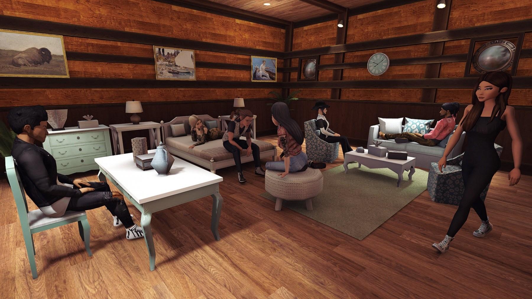 Avakin Life Characters Lounge