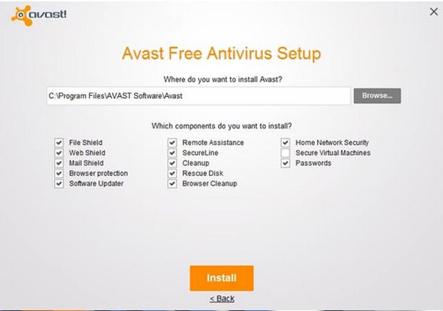 Avast Setup