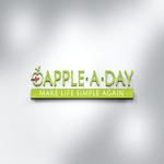 Apple a day 3d mockup