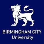Birmingham city university logo with white tiger